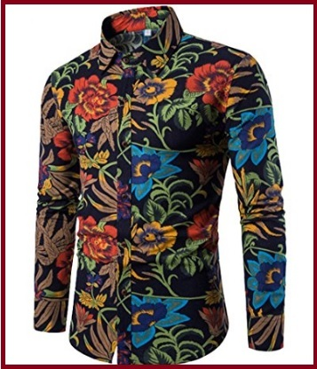 Camicia uomo slim fit elegante cotone