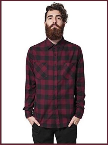 Camicie a quadri uomo invernale