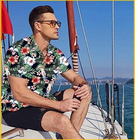 Camicia hawaii uomo