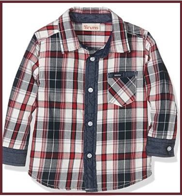 Camicia ragazzo scozzese