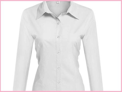 Camicie classiche donna maniche lunghe