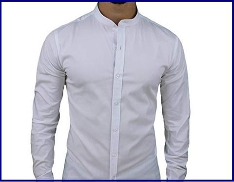 Camicie uomo coreana cotone