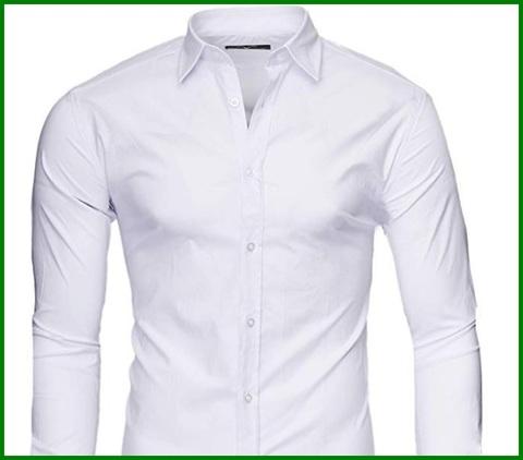 Camicie Uomo Eleganti Bianche