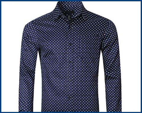 Camicie Uomo Maniche Lunghe Estive