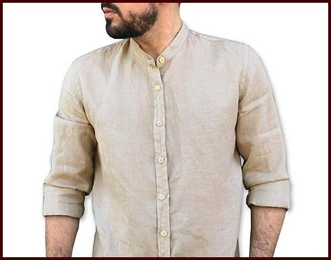 Camicie xxl puro lino