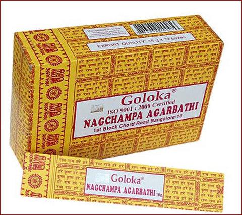Incensi aroma champa confezione da 12 bastoncini