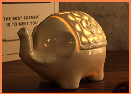 Candele Ceramica Elefante