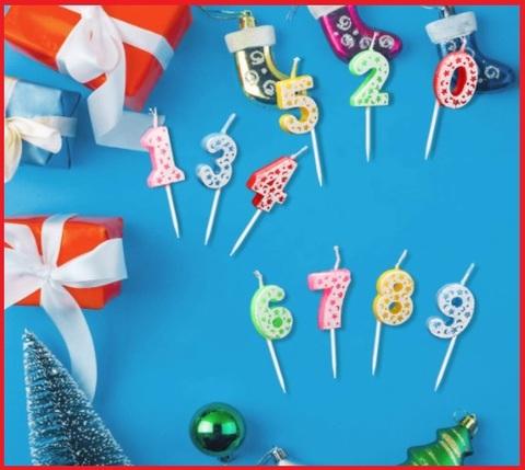Candeline compleanno numeri