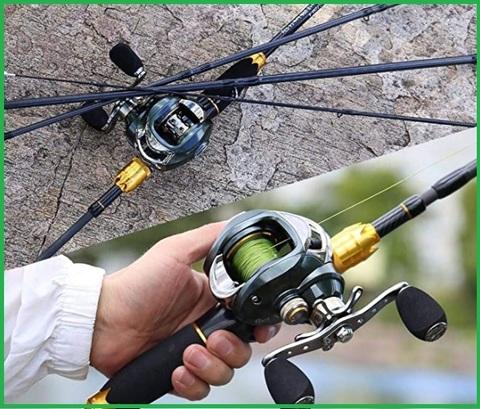 Canna da pesca mulinello elettrico