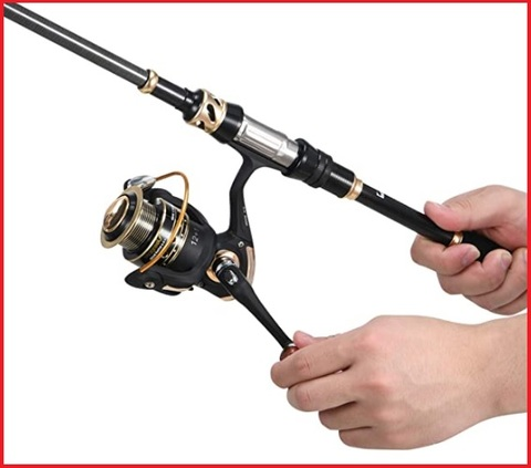 Canna telescopica da pesca