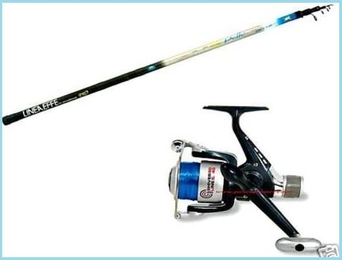 Canna da pesca bolognese 4 metri