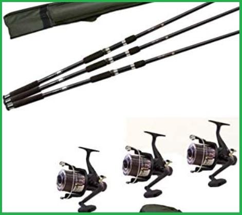 Canne da pesca carpfishing set