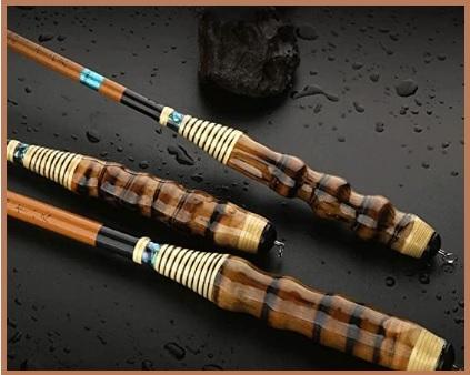 Canne di pesca in bambù