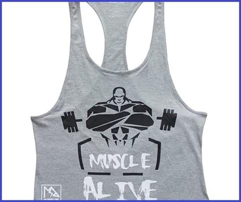 Canotta Bodybuilding Uomo