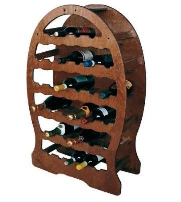 Cantinetta botte in legno porta vino