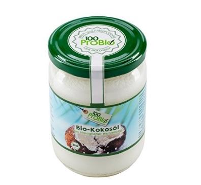 Capelli sani e forti prodotti con olio di cocco nativo