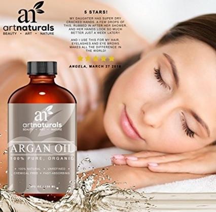 Prodotto naturale olio di argan marocchino