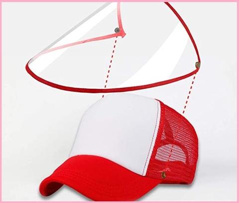 Cappellino Con Maschera Di Protezione