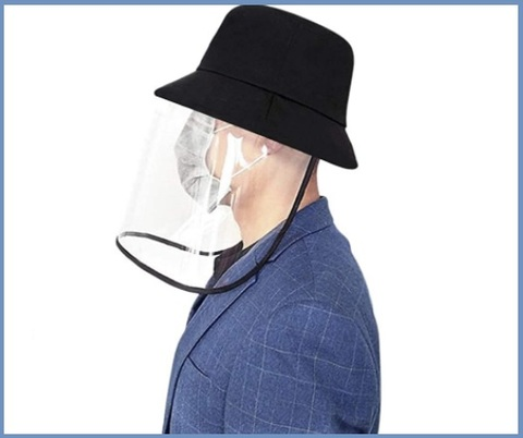 Cappellino Protezione Visiera