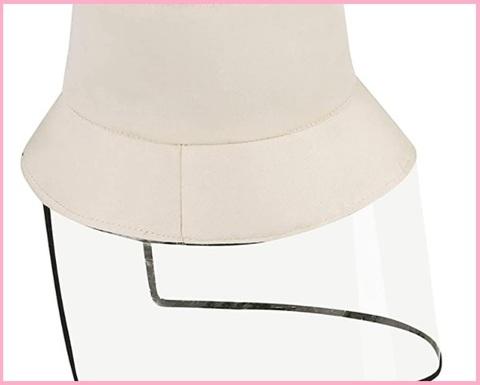 Cappello Protezione Per Donna Visiera