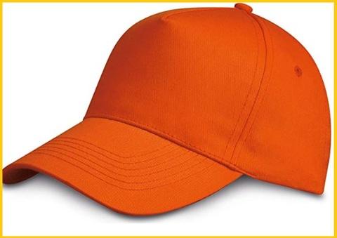 Cappellini arancione scuro