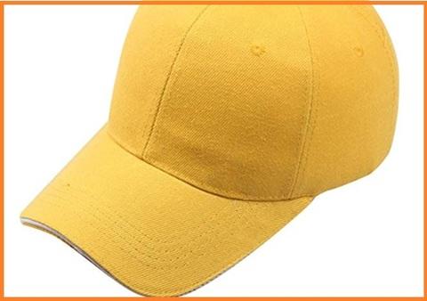 Cappellino giallo donna