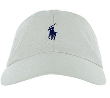 Cappello Ralph Lauren Polo Cotone Bianco