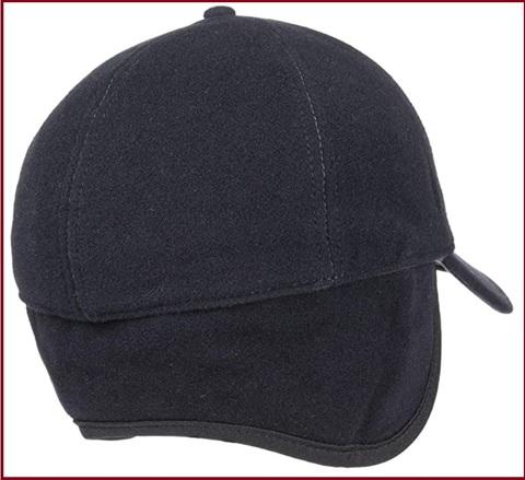 Cappello Invernale Con Visiera E Paraorecchie In Lana