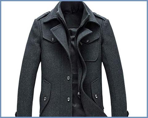 Cappotti in lana uomo
