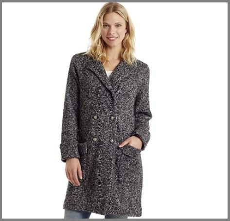 Cappotto grigio invernale