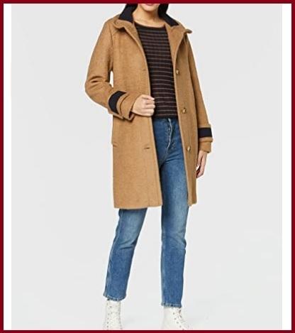 Cappotto marrone donna
