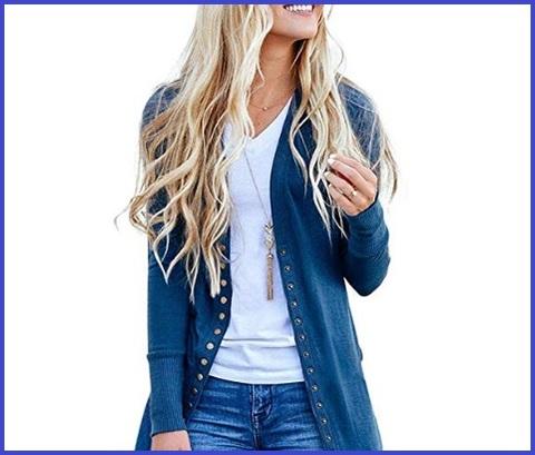 Cappotto blu donna elegante