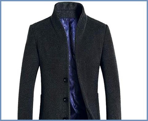 Cappotto grigio uomo