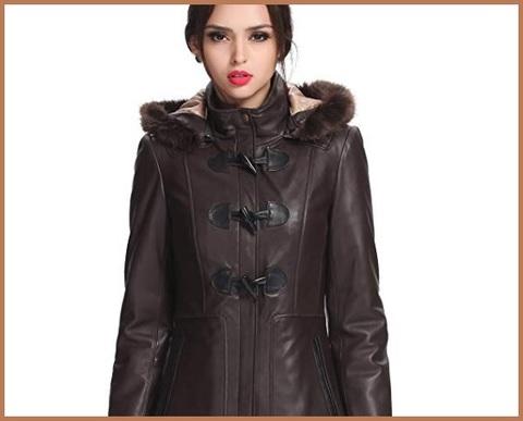 Cappotto marrone scuro donna