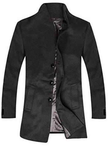 Cappotto Invernale Sottile Classico Da Uomo