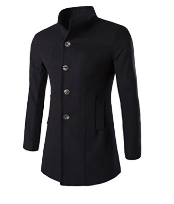 Cappotto elegante invernale con bottoni a lato