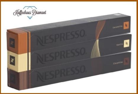 Capsule nespresso vari gusti cioccolato