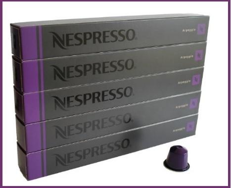 Nespresso capsule gusto arpeggio