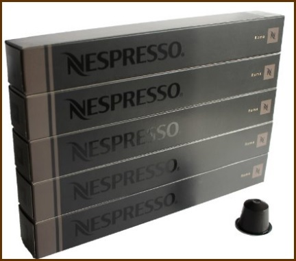 Nespresso capsule gusto roma