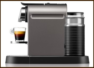 Macchina caffè nespresso cappuccino