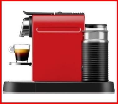 Macchina del caffè nespresso con aeroccino