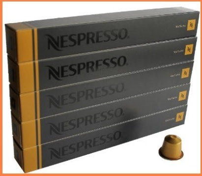 Nespresso capsule gusto volluto