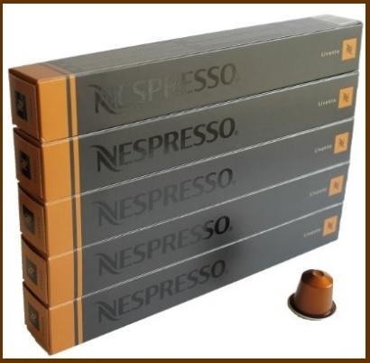 Capsule nespresso dal gusto livanto
