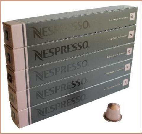 Capsule nespresso dal gusto rosabaya de colombia