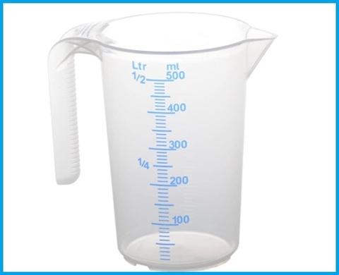 Caraffa graduata 500 ml