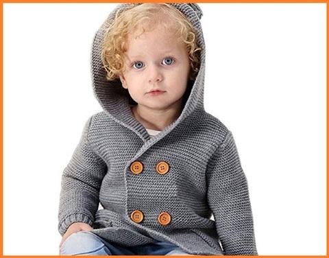 Cardigan bambini maglia
