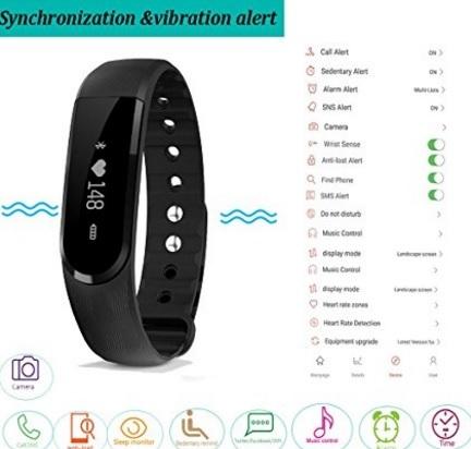 Cardiofrequenzimetri Senza Fascia Fitness Tracker