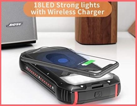 Caricabatterie solare portatile universale
