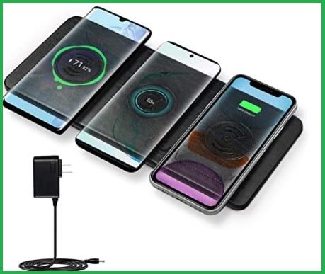 Caricabatterie wireless universale multiplo