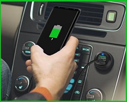 Carica batterie cellulare auto